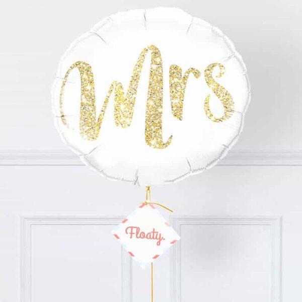 Luftballon Braut zoom