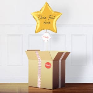 personalisierter Sternluftballon