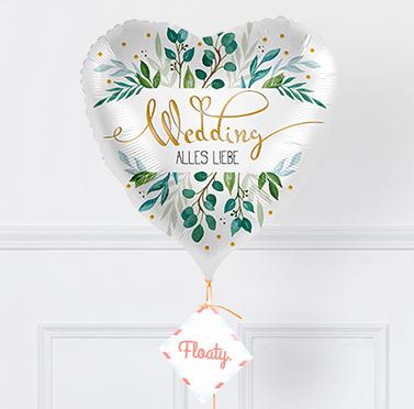 Ballon zur Hochzeit zoom
