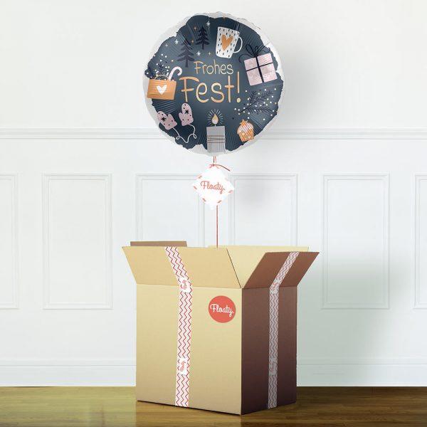 Frohes Fest Ballon
